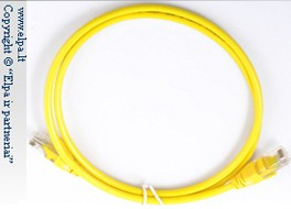 CAT5e-UTP-1.0 Yellow