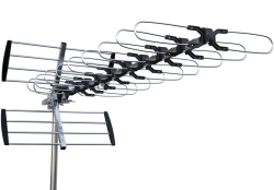 Outdoor DVB-T antennas