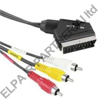 SCART-3xRCA IN/OUT