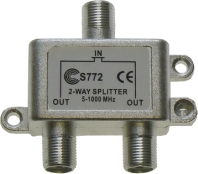 1GHz splitters and taps